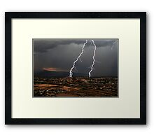 Tucson Double Framed Print