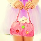 a little hamster in the pink bag by Carol Yepes
