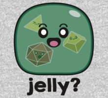 Jelly? - Gelatinous Cube One Piece - Short Sleeve