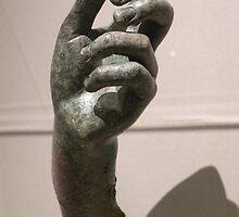 hand of Apollo Sauroktonos {Lizard-Slayer} 350~275 BCE by WonderlandGlass