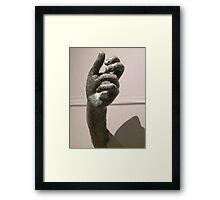 hand of Apollo Sauroktonos {Lizard-Slayer} 350~275 BCE Framed Print