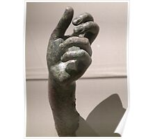 hand of Apollo Sauroktonos {Lizard-Slayer} 350~275 BCE Poster