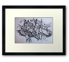 Washed from the sea. Framed Print