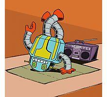 BreakBot the Breakdancing Robot Photographic Print