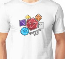 Polyhedral Pals - How I Roll - D20 Gaming Dice Unisex T-Shirt