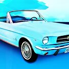 Sixty Four and a Half Mustang Convertible Miss B by ChasSinklier