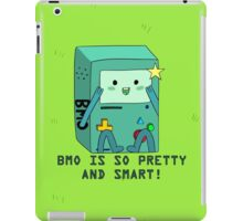 BMO is so pretty and smart! iPad Case/Skin
