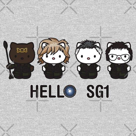TShirtGifter presents: Hello SG1