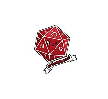 Polyhedral Pals - Crit Happens - D20 Gaming Dice by whimsyworks