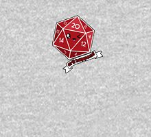 Polyhedral Pals - Crit Happens - D20 Gaming Dice Unisex T-Shirt