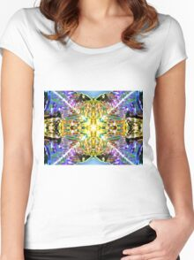 Risky Bismuth Women's Fitted Scoop T-Shirt