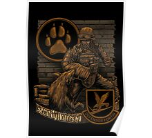 Security Forces K9 Poster