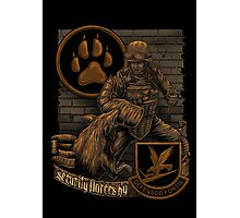 Security Forces K9 Photographic Print
