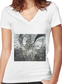 Beware of Darkness Women's Fitted V-Neck T-Shirt