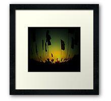 Pincushion reverie Framed Print