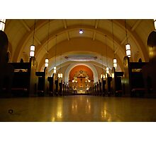 Sacred Heart Parish Church Photographic Print