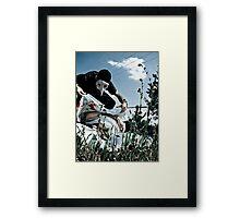 Cover Up Framed Print