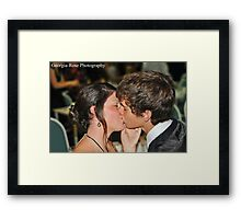 Tayla and Justin Framed Print