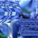 Rhapsodies in  Blue by Merice  Ewart-Marshall - LFA