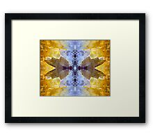 Take Wing (Amethyst and Citrine) Framed Print