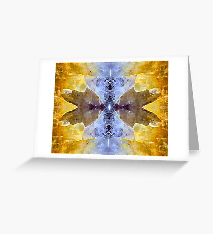 Take Wing (Amethyst and Citrine) Greeting Card
