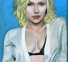 Scarlett Johansson by daverives