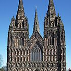 Lichfield Cathedral by Yampimon