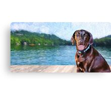 """Lake Burton - Landscape"" Canvas Print"
