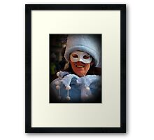 Lady Joker Framed Print