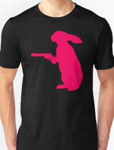 Rabbit With A Gun T-Shirt