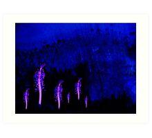 Stamens Forest Art Print