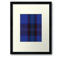 00752 Bank of Scotland 2000 Tartan  Framed Print