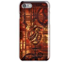 Steampunk Coronary Clockwork Gears iPhone Case/Skin