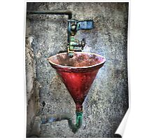 the original red bubbler Poster
