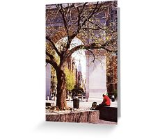 Spring In Washington Square, New York, NY Greeting Card