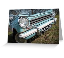 Triumph Herald 13/60 Greeting Card