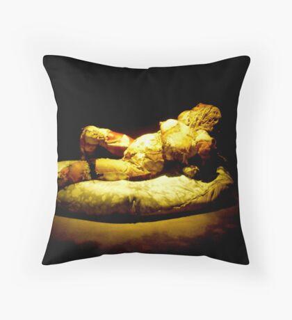 MONA an experience Throw Pillow