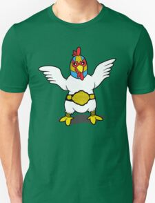 El Diablo - Fighting Chicken Unisex T-Shirt