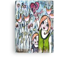 MOTHERS GIVE THEIR WHOLE HEART Canvas Print