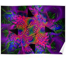 Psychedelic Escher Poster