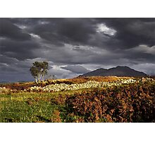 A Gathering Storm on Skye Photographic Print