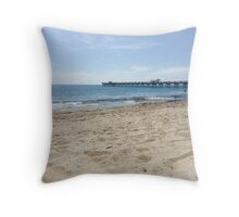 Beautiful Beach Getaway  Throw Pillow
