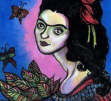 Folk Art Frida by Anita Inverarity