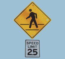 Pedestrian Crossing Kids Tee