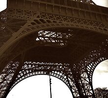 At the Bottom of the Eiffel Tower by danielmarcus