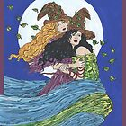 Witches' Wind by redqueenself
