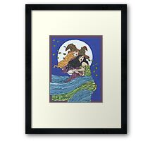 Witches' Wind Framed Print