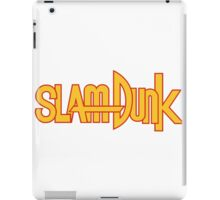 Slam Dunk Logo (Classic) iPad Case/Skin