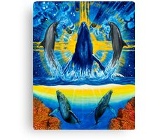 Peace in the Water Canvas Print