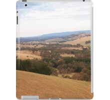 Overlooking Kilmore East VIC Australia iPad Case/Skin